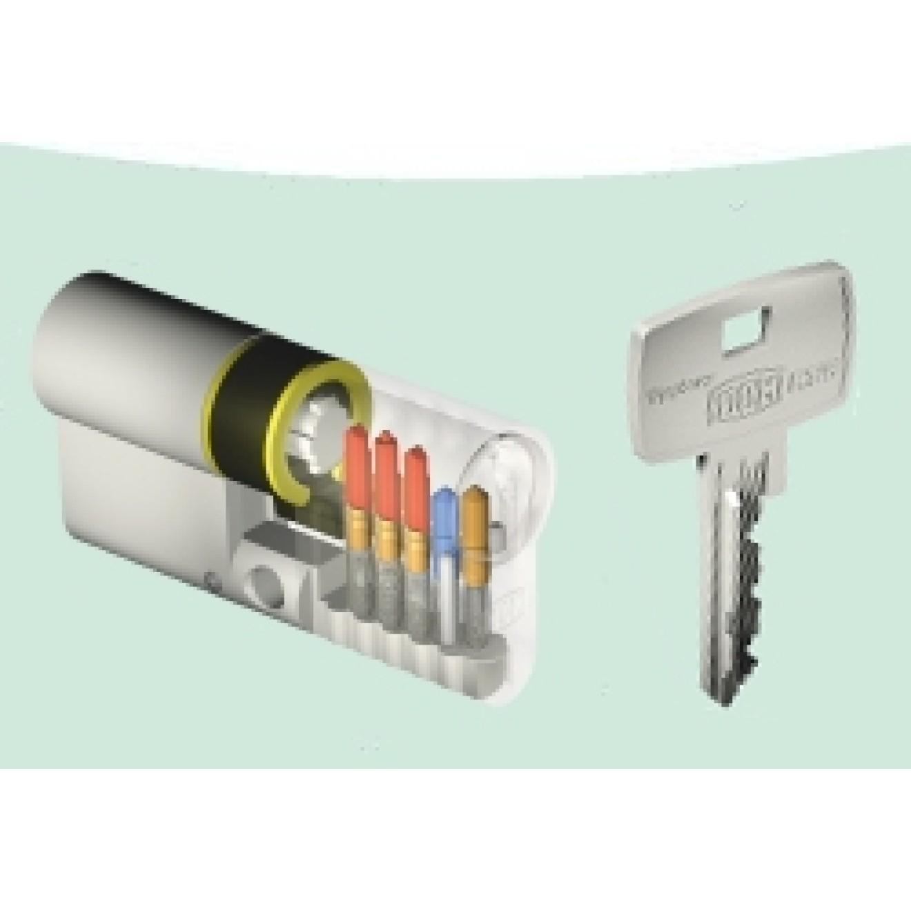 dom rs8 schlie zylinder mit schl sseln und sicherungskarte. Black Bedroom Furniture Sets. Home Design Ideas